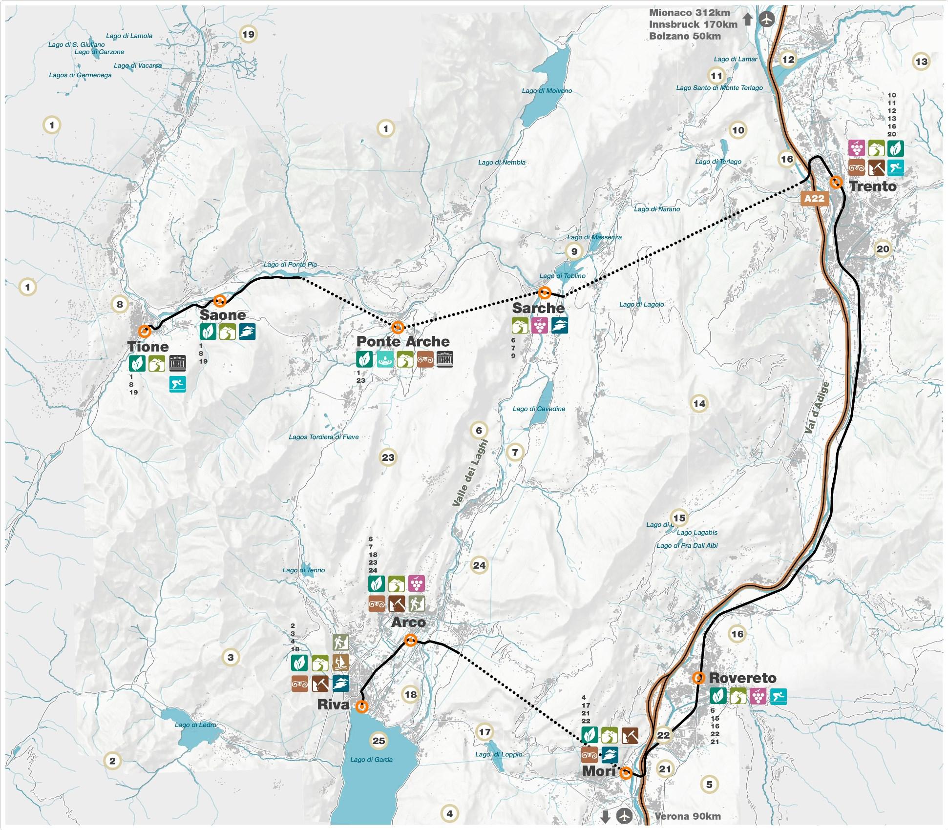 Metro de Trento Sérgio Pinto Arquitetura Paisagista e Desenho Urbano Landscape Architecture & Urban Design