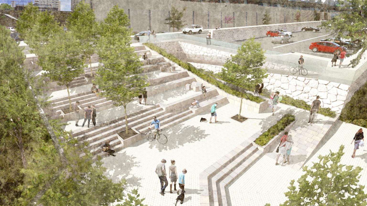 Parque Urbano do Marco de Canaveses urban park Sérgio Pinto Arquitetura Paisagista e Desenho Urbano Landscape Architecture & Urban Design